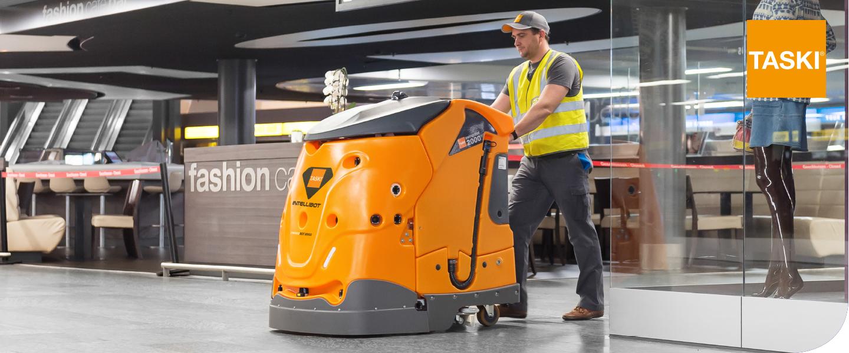 Robot de nettoyage autonome diversey schweiz for Robot de nettoyage